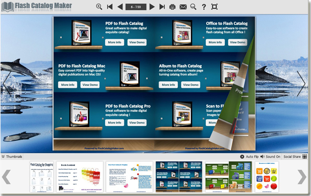 one catalog maker makes more than 10 styles e catalog easily