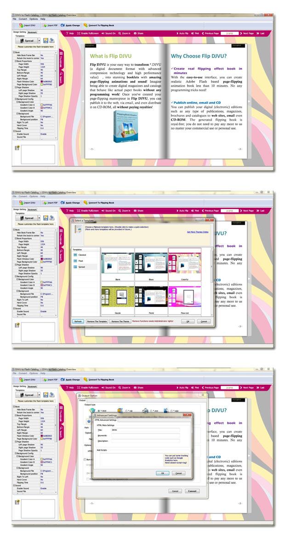 Windows 7 DjVu to Flash Catalog 1.8 full