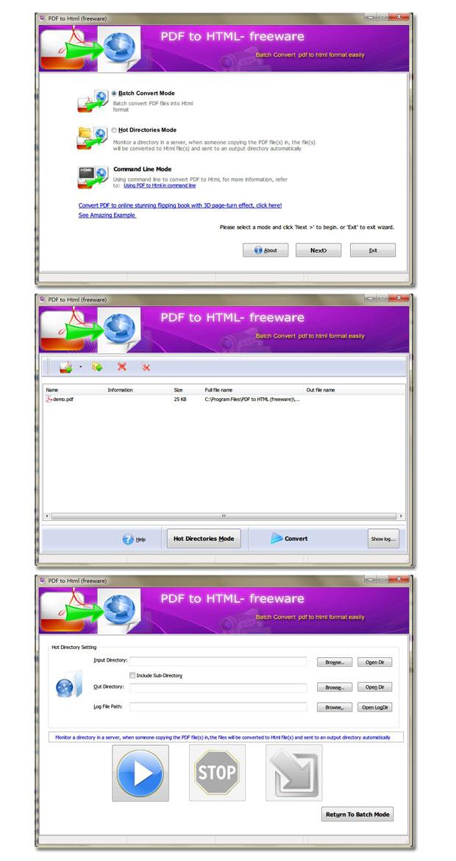 Windows 7 Flash Catalog Free PDF to HTML 1.8 full