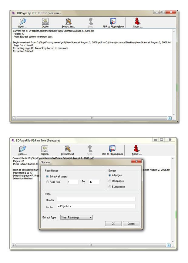 Windows 7 Flash Catalog Free PDF to Text 1.8 full