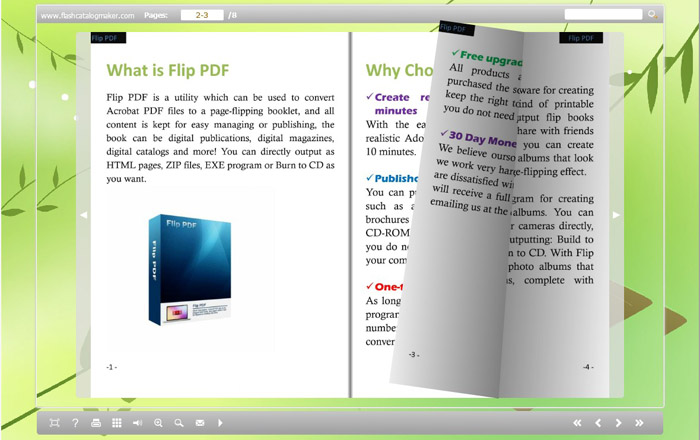 Free flipping book maker 100% free to create digital versions.