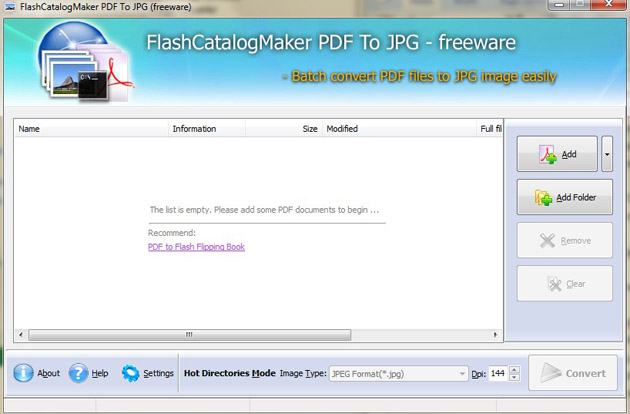 Windows 7 FlashCatalogMaker PDF to JPG 1.0 full