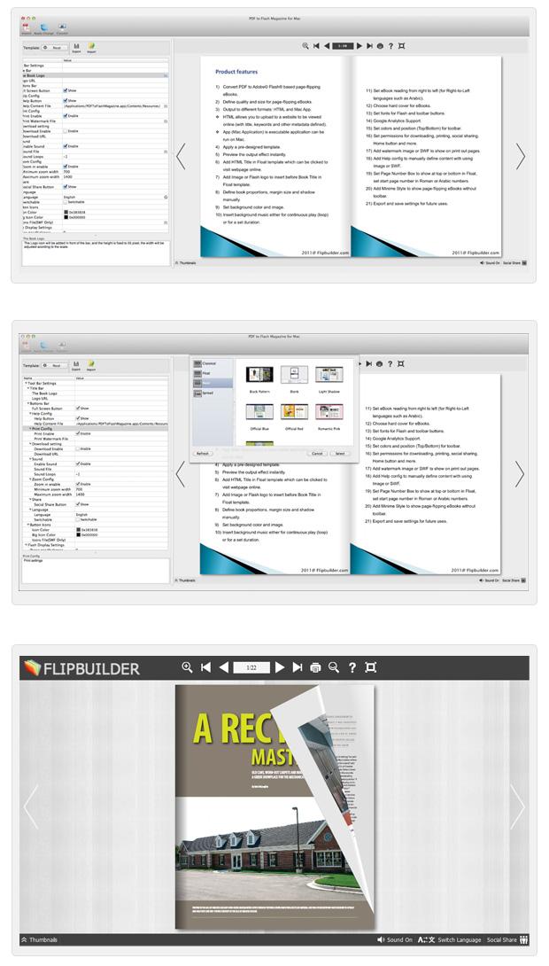 PDF to Flash Catalog for Mac