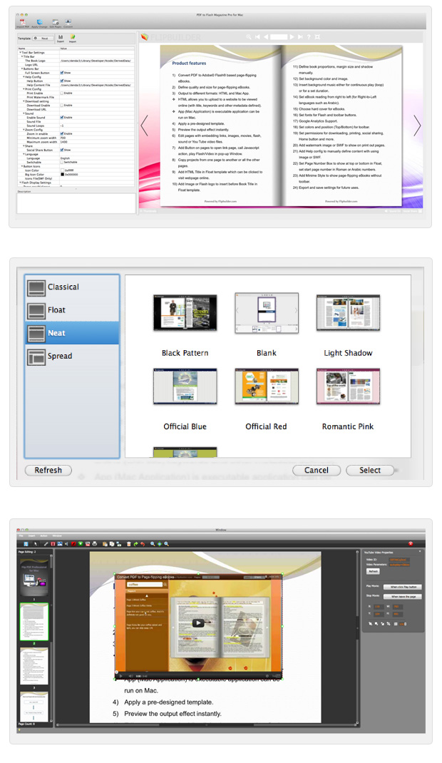 PDF to Flash Catalog Pro for Mac full screenshot