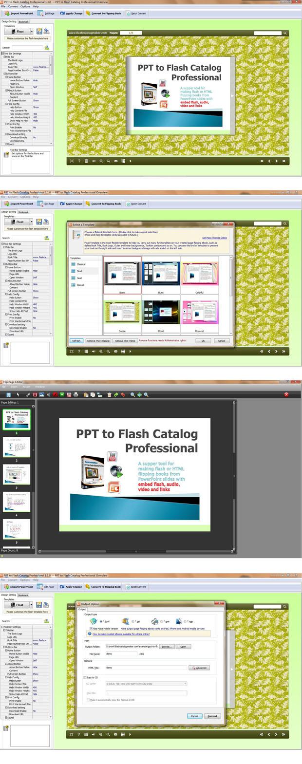 PPT to Flash Catalog Pro 1.8.6 full