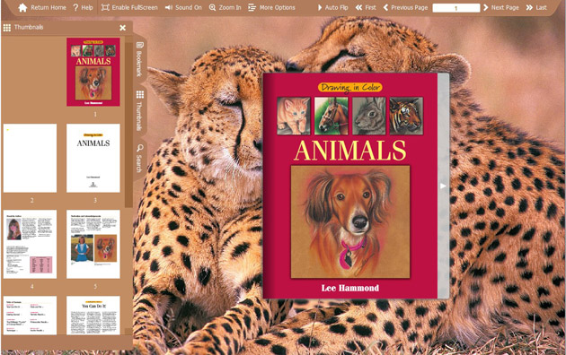 Windows 7 Flash Catalog Templates Animal Love 1.0 full