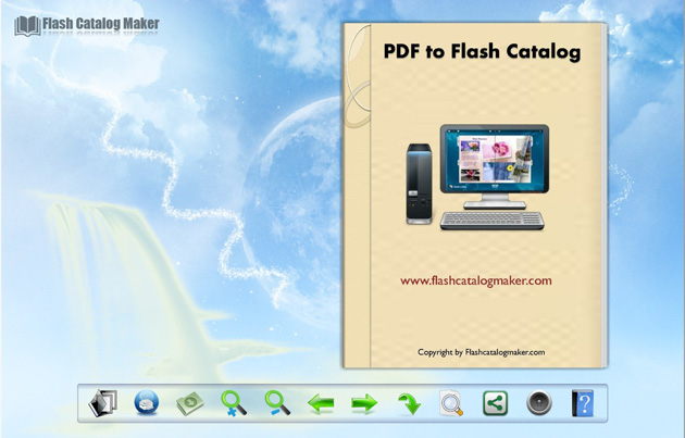 Windows 7 Flash Catalog Templates of Shining Style 1.0 full